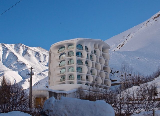 اقامتگاه اسکی شگفت انگیز در ایران