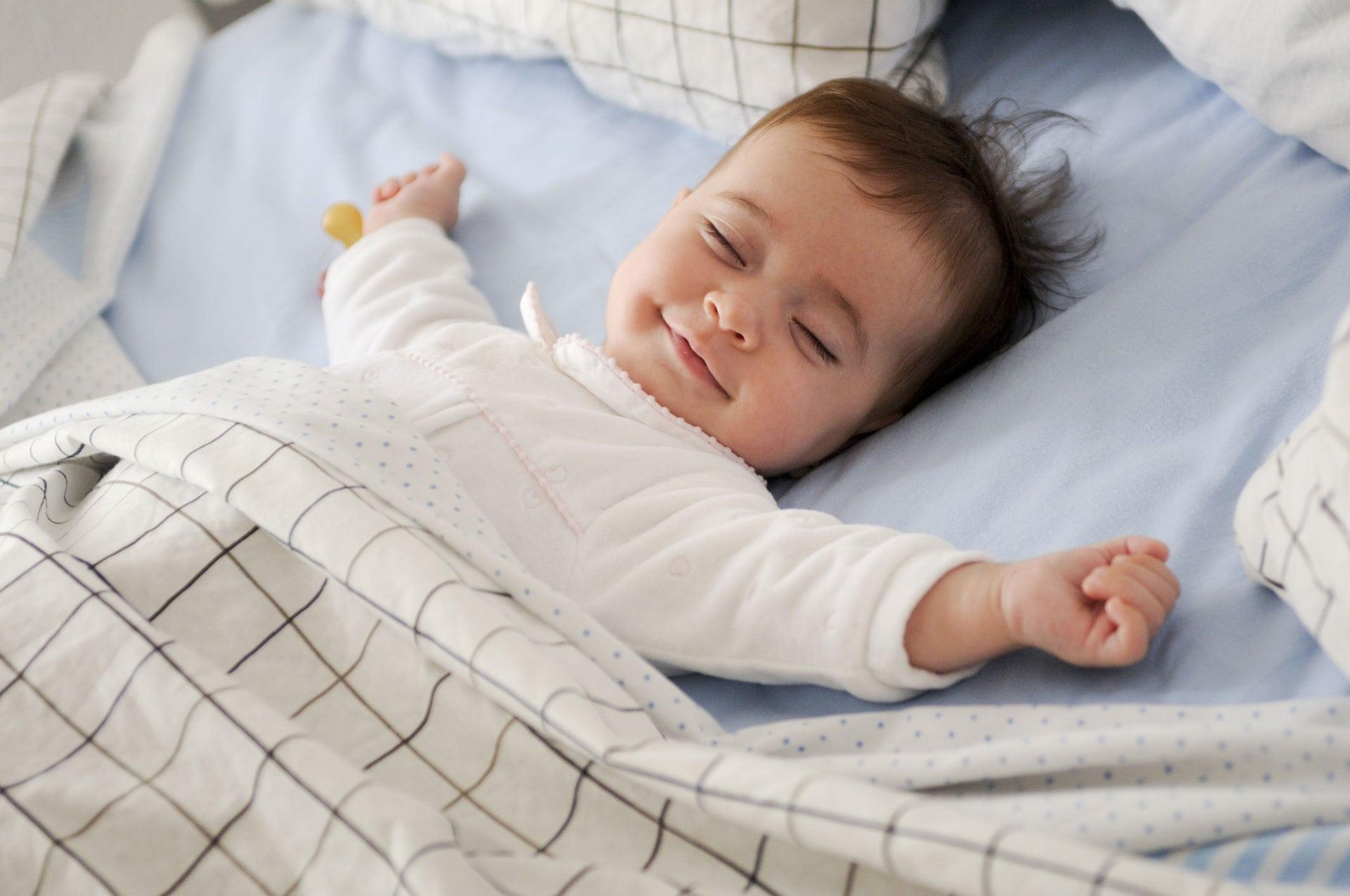 مانند یک کودک بخوابید!